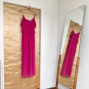 Summer evening prom gown